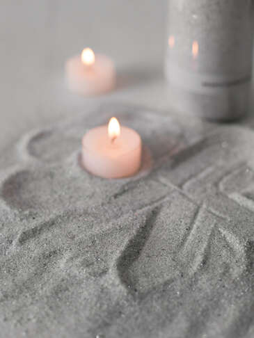 Grey Candle Sand
