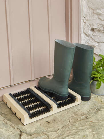 Beech Wooden Boot Scraper