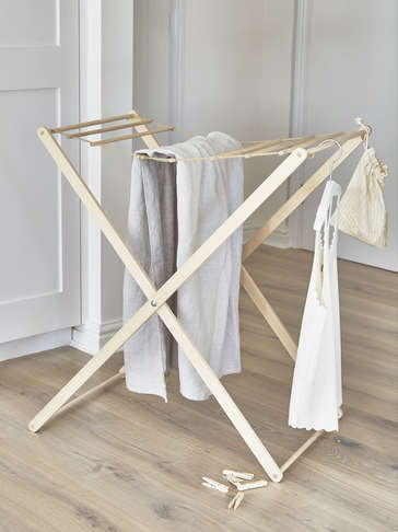Birch Wood Drying Rack