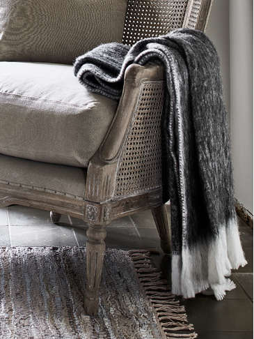 Supersoft Mohair Mix Throw