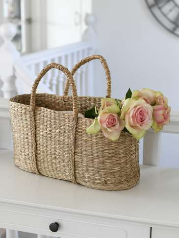 Seagrass Shopping Basket