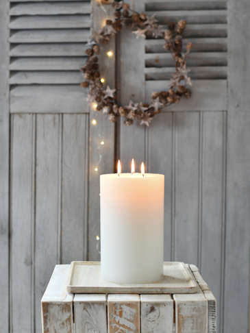 Giant Indoor 3 Wick Candle