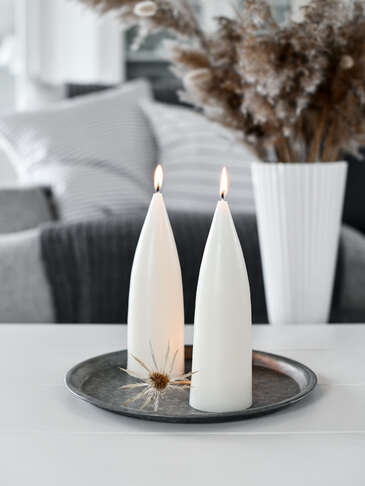 Danish Cone Candle - Ivory