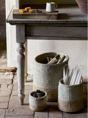 Handwoven Basket Set