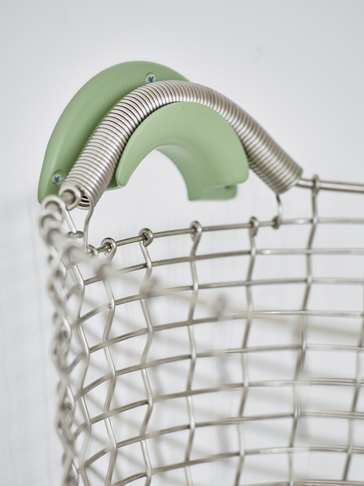 Heirloom Basket Hanger - Green