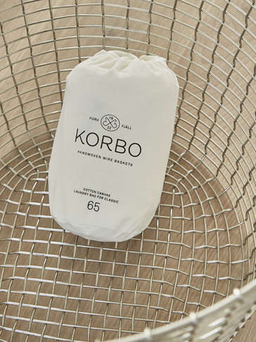 Organic Cotton Laundry Bag - 65L