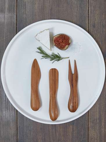 Bamboo Cheese Utensil Set