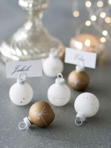 Bauble Name Place Holders