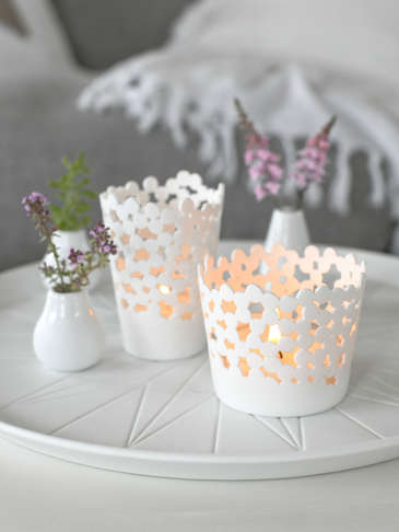 Kalmar Porcelain Tealight Holders