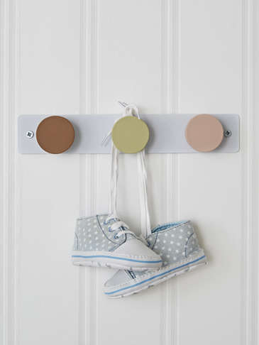 Nordic Hook Rack - Apricot Trio