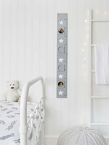 Star Height Chart - Grey