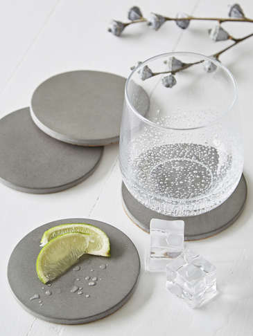 Concrete Coaster Set