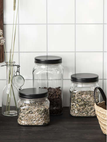 Fill-Good Glass Jar Set