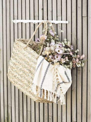 Large Seagrass Tote Bag