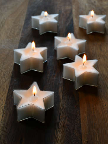 Star Tealight Set