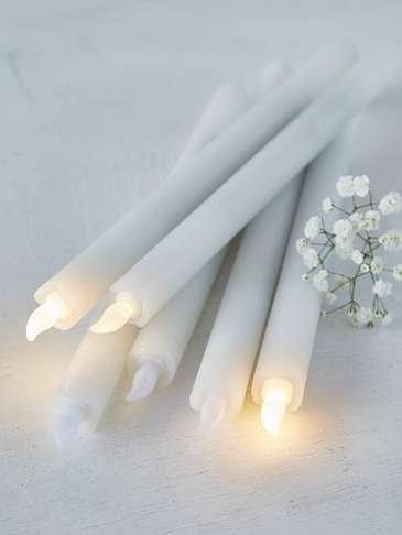 LED Dinner Candle Set