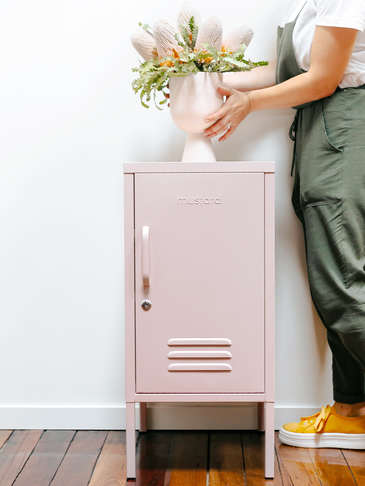Loft Style Lockers - Blush Pink