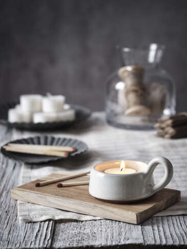 Dillie Stoneware Tealight Holder