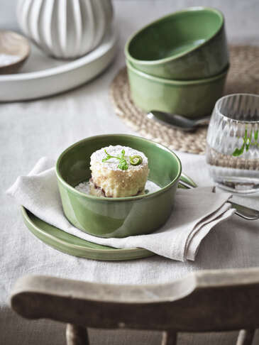 Fresh Green Cereal Bowl