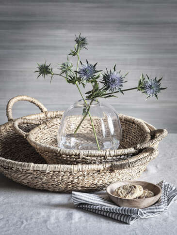 Seagrass Tray Baskets