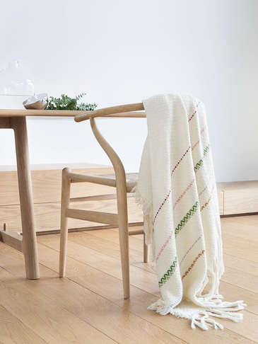 Handwoven Bergen Throw