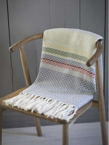 Handwoven Anja Throw