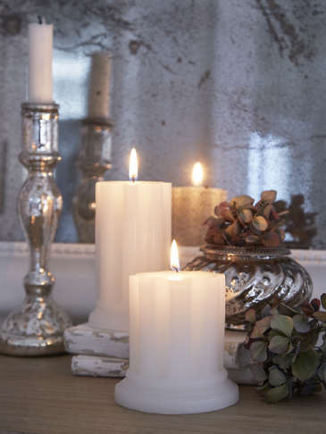 Lena Pillar Candles