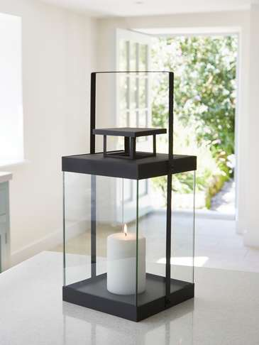 Sleek Hurricane Lantern