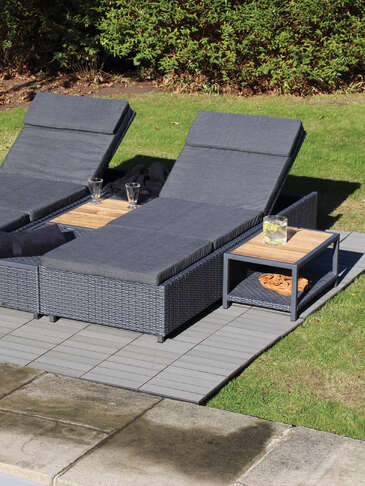 Relax Sun Lounger and Tables