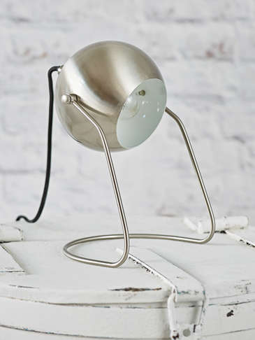 Silver Table/Wall Lamp
