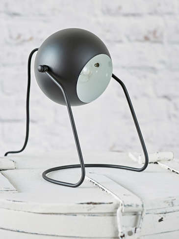Black Table/Wall Lamp