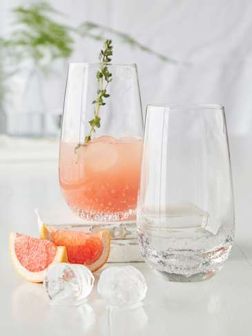Bubble Glass Tall Tumbler