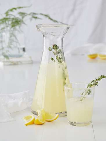 Bubble Glass Carafe