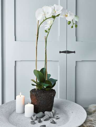 Large Faux Orchid