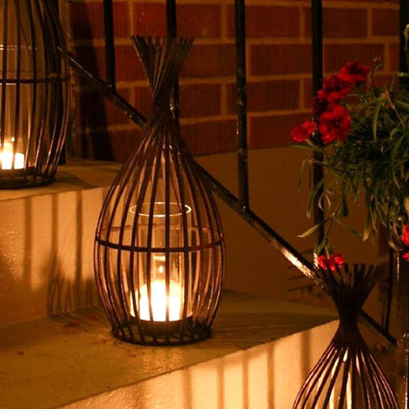 Outdoor Candle Lanterns and Outdoor Candlelight