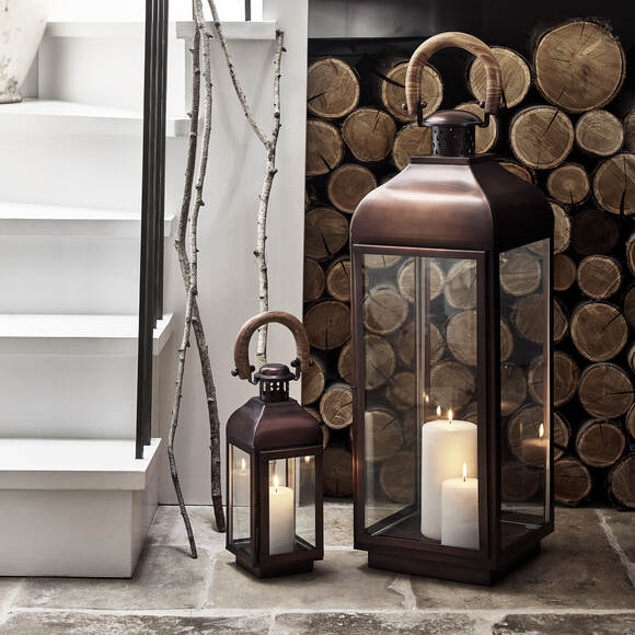 Candle Lanterns and Hurricane Lamps